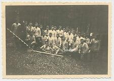 Foto- Soldaten im Drillich  2.WK  (L708)