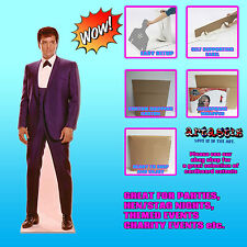 Elvis Presley The King 1960s Blue Suit LIFESIZE CARDBOARD CUTOUT