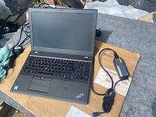 "lenovo thinkpad t560 15.6"" i5-6200U 8gb ram 256gb ssd"