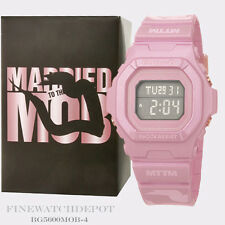 Authentic Casio Baby-G Married to the Mob MTTM Metallic Blush Watch BG5600MOB-4