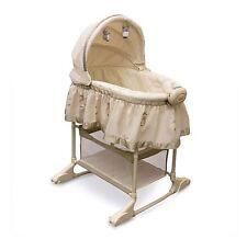 Bily 2-in-1 Bassinet Owl Baby Rocking Cradle Newborn Infant Crib bed Nursery