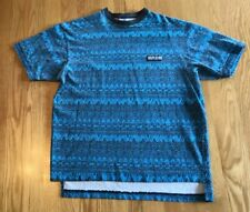 Vintage 1988 Body Glove Aztec Pattern Print Shirt M