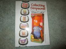 SIMPSONS COLLECTING SIMPSONS BOOK BY WILLIAM LARUE AUTOGRAPHED