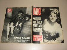 ABC=1965/18=DANIELA BIANCHI=BRUSASCHETTO=DRACULA PARTY ROGER VADIM CHEZ CASTEL=