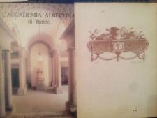 L'ACCADEMIA ALBERTINA DI TORINO - DALMASSO / GAGLIA / POLI - ED. SAN PAOLO 1982