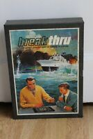 Vintage Break Thru Board Game Nautical Strategy By 3m Bookshelf Games 1965
