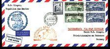 1933 SAN MARINO Zeppelin cover #1   REPLICA