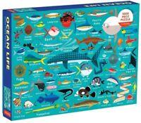 Ocean Life 1000 Piece, Family Puzzle [New ] Puzzle