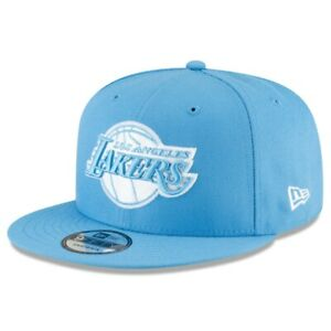 Los Angeles Lakers New Era Blue 2020/21 City Edition Alt 9FIFTY Snapback Hat