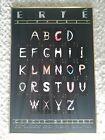 Erte Alphabet Circle Gallery Poster