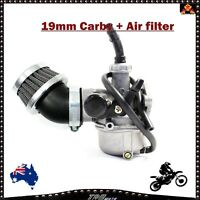 19mm 4 Stroke Carby Carburetor + Air filter for 50cc 70cc Dirt Pit ATV Bike