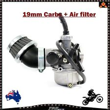 19MM CARBURETTOR CARBY & AIR FILTER ATV DIRT QUAD BIKE ATOMIK PITPRO THUMPSTAR