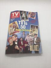 TV Guide May 6-12, 1989 TVIs 50 Happy Birthday