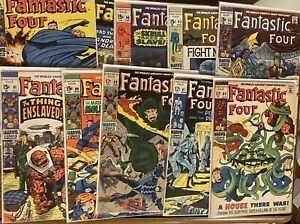 FANTASTIC FOUR - Silver Age LOT Of 10 Issues #83-96 🔥 🔑 🔥 Free Shipping!