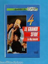 GUERIN SPORTIVO-1991-LE GRANDI SFIDE-4- LA NAZIONALE cover DINO ZOFF