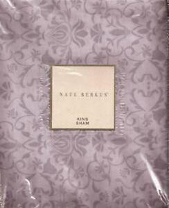 "Nate Berkus Wilshire Collection Purple King Pillow Sham (20"" x 36"")"