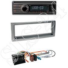 Caliber RMD212 Radio + Citroen C5/Peugeot407 1-DIN Blende anthrazit +ISO-Adapter