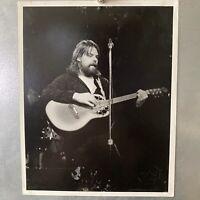 Rare Vintage Bob Seger Photo 8x10 - Original Black & White By Greg Savalin