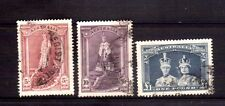 AUSTRALIA 1938 high value robes set used thick paper