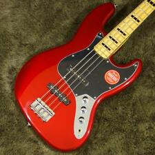 Squier Vintage Modified Jazz Bass '70s Candy Apple Red beutiful JAPAN EMS F/S*