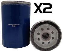 x2 Oil Filter Suits Z68 TOYOTA DYNA YH81 YH81R TARAGO YR21 YR22 YR30 YR31