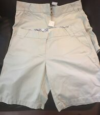 Lot of 2 J. Crew Chino Weathered & Broken In Women's Shorts Khaki Sz 6 City Fit