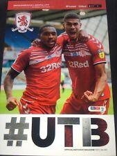Middlesbrough v Bristol City 11-07-2020