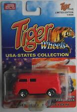 Tiger Wheels VW Bus T1 rot Neu/OVP Oldtimer Transporter Kastenwagen Panel Van
