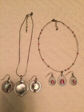 Lot Of 2 LIA SOPHIA Jewelry Sets: COTTON CANDY And STILLWATER MOTHER OF PEARL