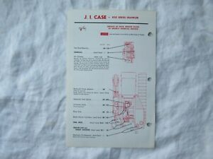 Case 850 crawler tractor lubrication guide chart
