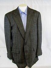 CHAPS RALPH LAUREN British Isles Woven Men's 44R Tweed Like Glen Plaid Blazer