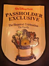 Disney Happiest Celebration On Earth Passholder Exclusive Mickey & Minnie Pin