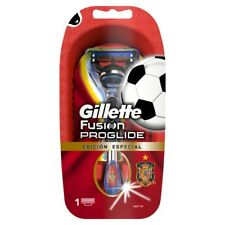 Gillette Fusion ProGlide Rasierer –Spanien Fan Edition Griff mit 1 Klinge