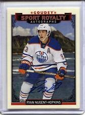 Ryan Nugent-Hopkins 2016 Upper Deck Black Box Auto /15 Industry Summit Goudey SP