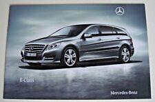 Mercedes . R Class . Mercedes R Class . 2010 Sales Brochure