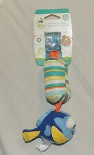 NEW Unisex Disney Baby Finding Nemo Dory Car Seat Stroller Toy Chimes Fish
