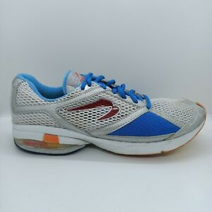 Newton Women's Size US 9 EUR 42 Trail Running Shoes Trainers Blue White Orange