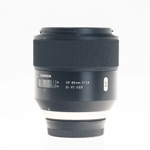 Nikon Tamron 85mm F1.8 VC DI USD SP F Mount Autofocus Prime Lens AFF016N700