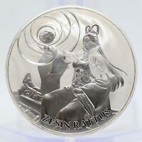 2020 South Korea ZI:SIN Rattus 1 oz Silver Clay Medal ounce Bullion - JJ425