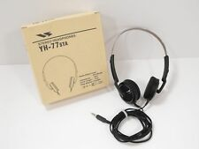 Yaesu YH-77STA Stereo Headphones for Ham Radio w/ Original Box (Tested)