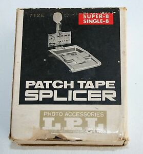 LPL S-8 Patch Tape Splicer Super 8 Single 8