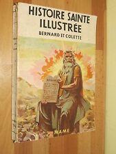 Histoire Sainte Illustrée Bernard et Colette en avion ill. B. de CONIAC