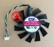 1X For 75mm DASA0815R2U 0.6A fan For VGA Video Card GTX 550 Ti GTX 560