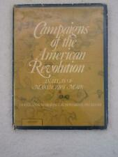 Marshall & Peckham Campaigns Of The American Revolution Atlas of Manuscript Maps