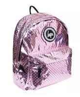 Hype Metallic Polka, Unisex Adults' Backpack, Multicolour Pink/Blue, 30x41x15 cm