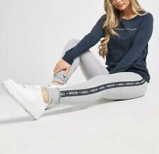 Tommy Hilfiger Womens Side Logo Leggings - Grey Sizes XS-L