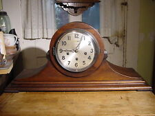 "ANTIQUE 1926 ANSONIA 'SONIA NO. 1"" MAHOGANY 8DAY WESTMINSTER CHIME MANTEL CLOCK"