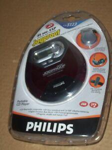 Phillips Jogproof CD Player + Headphones & Car Kit AX-5123 NEW Sealed