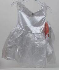 Sweet Heart Rose Dollie & Me Matching Bride Dress & Headband Veil Size 4 NWT