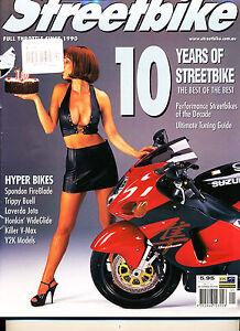 Performance Streetbike # 61 Feb 2000 KTM LC4 Supermoto 1925 Rudge-Whitworth 500